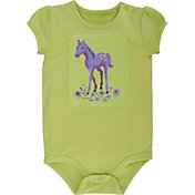 Carhartt Infant Girls' I Heart Horses Bodysuit