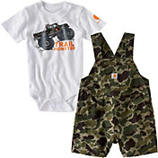 Carhartt Infant Boys' Trail Monster Overall Set
