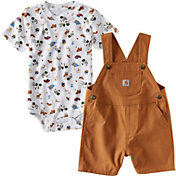 Carhartt Infant Boys' Wilderness Overall Set