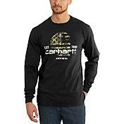 Carhartt Men's Lubbock Graphic Filled Flag Long Sleeve Shirt