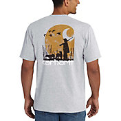 Carhartt Men's Workwear Graphic Branded C Pocket T-Shirt