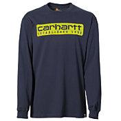 Carhartt Men's Workwear Graphic Wood Plank Long Sleeve Shirt