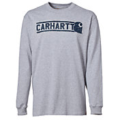 Carhartt Men's Workwear Graphic Brick Long Sleeve Shirt