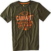 Carhartt Toddler Boys' Live to Hunt Short Sleeve T-Shirt