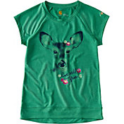 Carhartt Toddler Girls' Live Wild and Free Force Short Sleeve T-Shirt