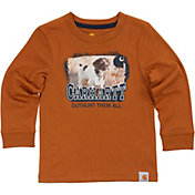 Carhartt Toddler Boys' Photoreal Brittany Spaniel Long Sleeve Shirt