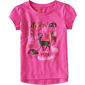Carhartt Toddler Girls' Summer Fun Short Sleeve T-Shirt