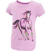 Carhartt Toddler Girls' Painterly Horse Slub T-Shirt