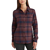 Carhartt Women's Rugged Flex Hamilton Flannel Long Sleeve Shirt