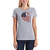 Carhartt Women's Lubbock Graphic American Brand T-Shirt