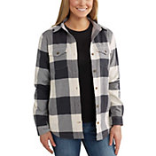 Carhartt Women's Rugged Flex Hamilton Fleece Lined Flannel
