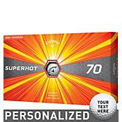 Callaway Superhot 70 Personalized Golf Balls – 15 Pack