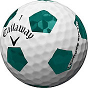 Callaway Chrome Soft Green Truvis Golf Balls - Sports Matter Special Edition