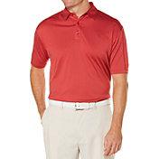 Callaway Men's Denim Jacquard OptiDri Golf Polo