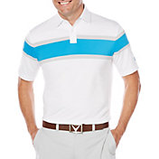 Callaway Men's OptiDri Chest Stripe Golf Polo