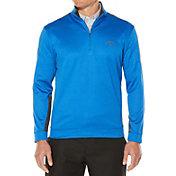 Callaway Men's Quarter-Zip Color Block Fleece Golf Pullover