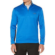 Callaway Men's Quarter-Zip Color Block Fleece Golf Pullover