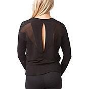 REFLEX Women's Open Back Mesh Long Sleeve Shirt
