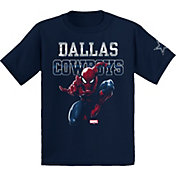 Dallas Cowboys Merchandising Youth Spiderman Navy T-Shirt