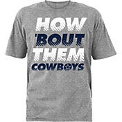 Dallas Cowboys Merchandising Youth Polka Grey T-Shirt