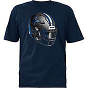 Dallas Cowboys Merchandising Youth Stealth Helmet Navy T-Shirt