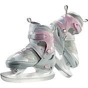 DBX Girls' Adjustable Figure Skates