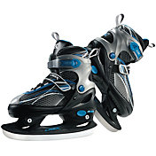DBX Boys' Adjustable Ice Skates