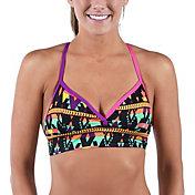 Dolfin Junior's Bellas Azera Longline X-Back Bikini Top