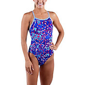 Dolfin Junior's Uglies Surfari V-2 Back Swimsuit