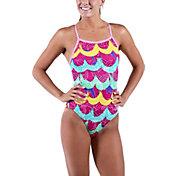 Dolfin Junior's Uglies Tropicana V-2 Back Swimsuit