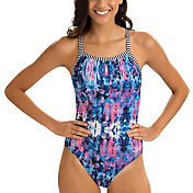 Dolfin Women's Uglies Azure V-Back Swimsuit