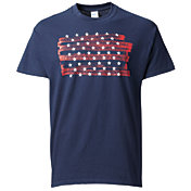 Gildan Men's Americana Stars and Stripes T-Shirt