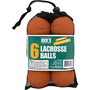 DICK'S Sporting Goods 2017 6-Pack Lacrosse Balls