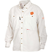 Drake Waterfowl Men's Clemson Wingshooter Long Sleeve Shirt