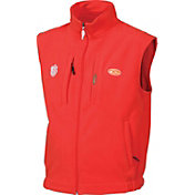 Drake Waterfowl Men's Clemson Windproof Fleece Vest