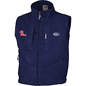 Drake Waterfowl Men's Ole Miss Windproof Fleece Vest