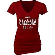 Blue 84 Women's Indiana Hoosiers ESPN College Gameday Crimson T-Shirt