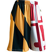 Fit 2 Win Men's Maryland Terrapins 'Maryland Pride' Split Flag Shorts