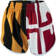 Fit 2 Win Women's Maryland Terrapins 'Maryland Pride' Split Flag Shorts
