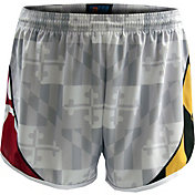 Fit 2 Win Women's Maryland Terrapins 'Maryland Pride' White Shorts