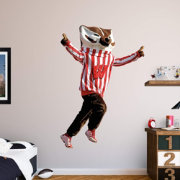 Fathead Wisconsin Badgers Mascot Wall Decal