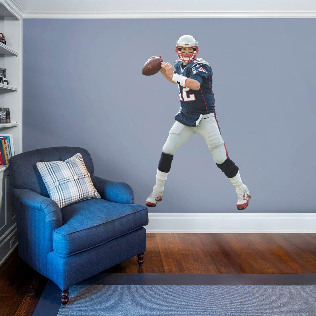 noImageFound ??? & Fathead New England Patriots Tom Brady Wall Decal | DICKu0027S Sporting ...