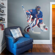 Fathead New York Rangers Henrik Lundqvist Wall Decal