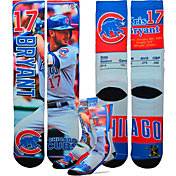 For Bare Feet Chicago Cubs Kris Bryant Trading Card Socks
