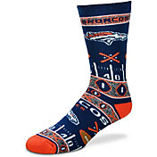 For Bare Feet Denver Broncos Superfan Crew Socks