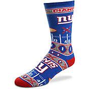 For Bare Feet New York Giants Superfan Crew Socks