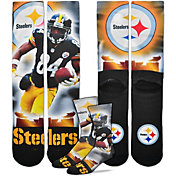 For Bare Feet Pittsburgh Steelers Antonio Brown Player Crew Socks