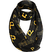 Forever Collectibles Pittsburgh Pirates Logo Infinity Scarf