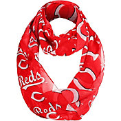 Forever Collectibles Cincinnati Reds Logo Infinity Scarf