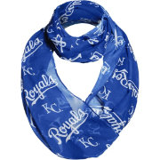 Forever Collectibles Kansas City Royals Logo Infinity Scarf
